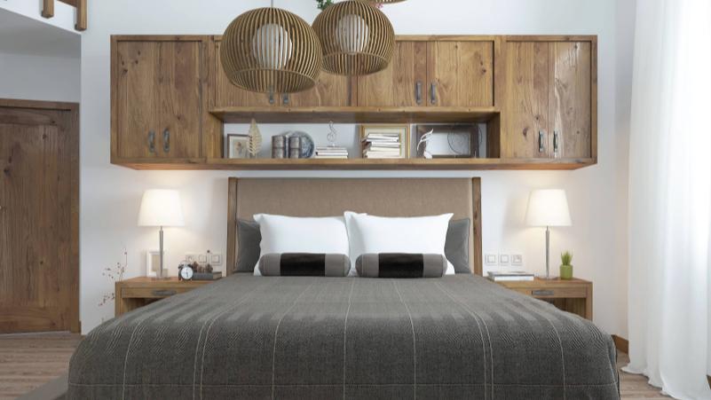 Armario Sala Ikea ~ Decoraç u00e3o de quarto de casal sugestões para projetos personalizados ufeff