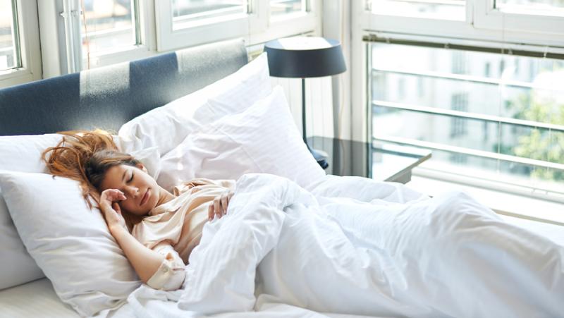 Posição correta para dormir
