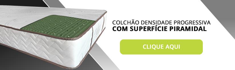 COLCHÃO DENSIDADE PROGRESSIVA