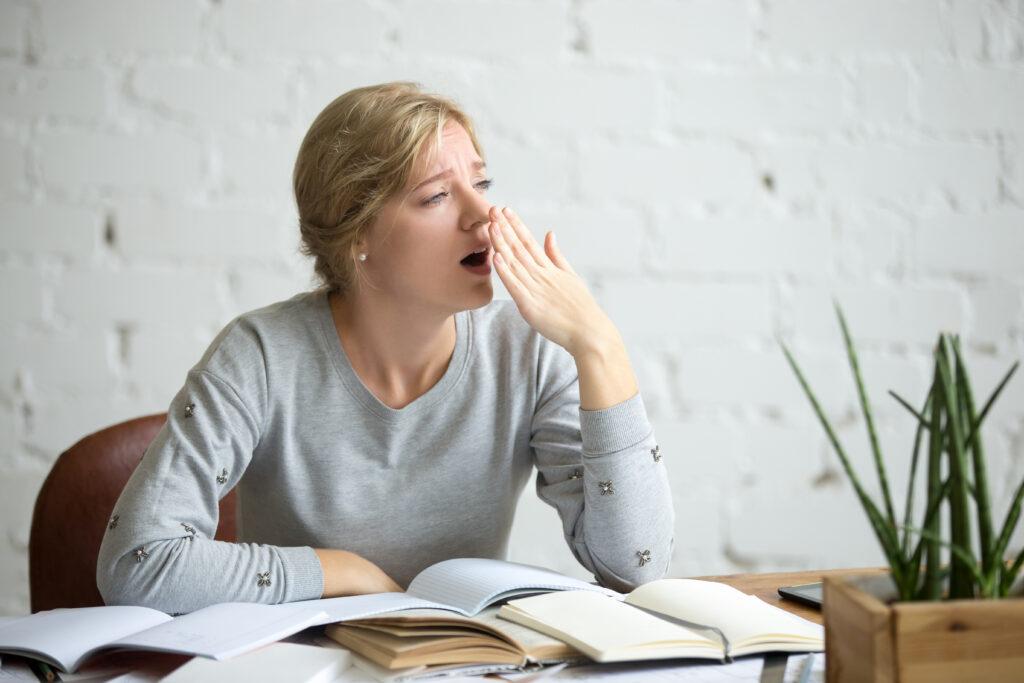 Privação do sono traz consequências negativas