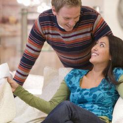 casal deve ir junto comprar colchões