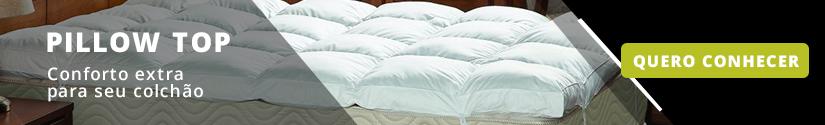 Pillow top para colchões Duros
